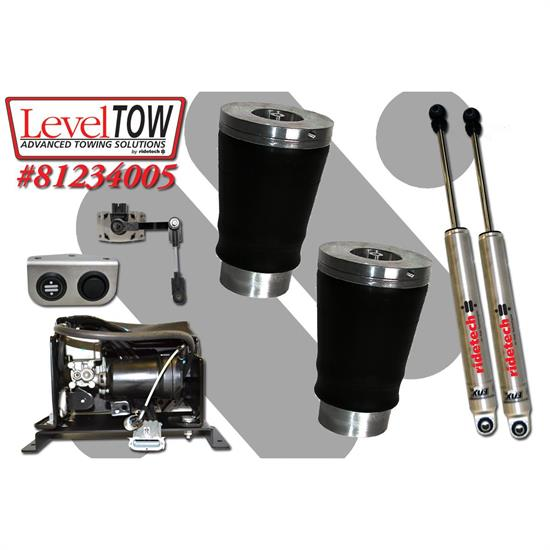 RideTech 81234005 LevelTow Kit, 09-14 Dodge Ram 1500 2WD/4WD