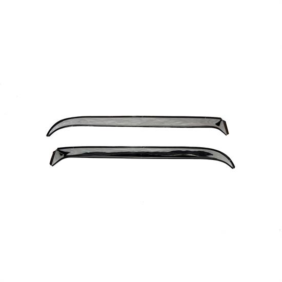 AVS 12717 Ventshade Side Window Deflector 2pc Stainless