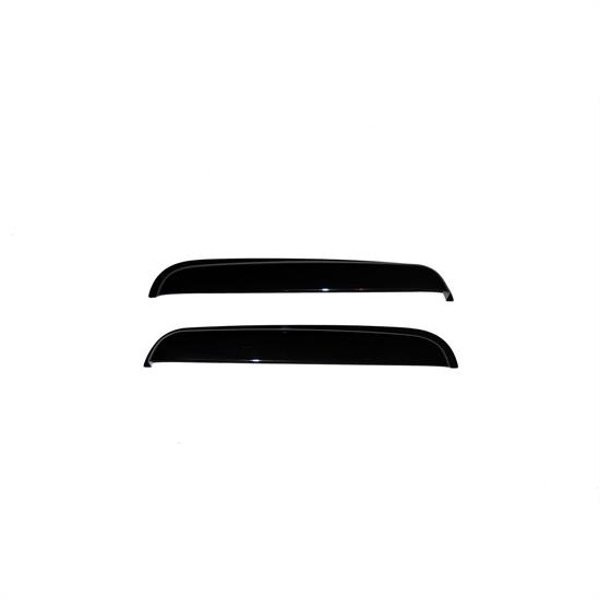 AVS 15749 Ventvisor Rear Deflector 2pc Smoke Tint, Chevy/GMC