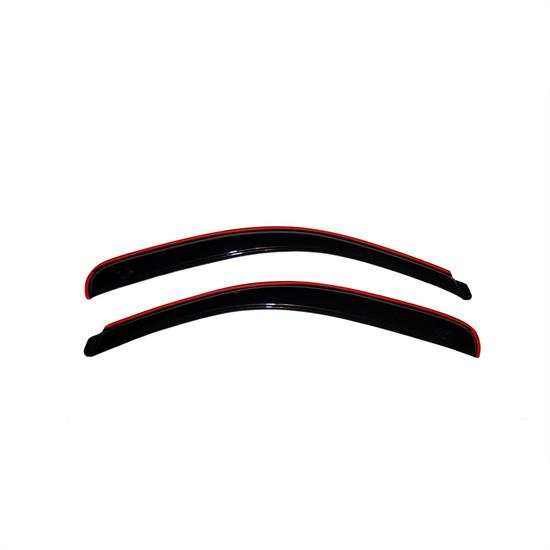 AVS 192068 Ventvisor In-Channel Deflector 2pc Smoke Tint, Ford