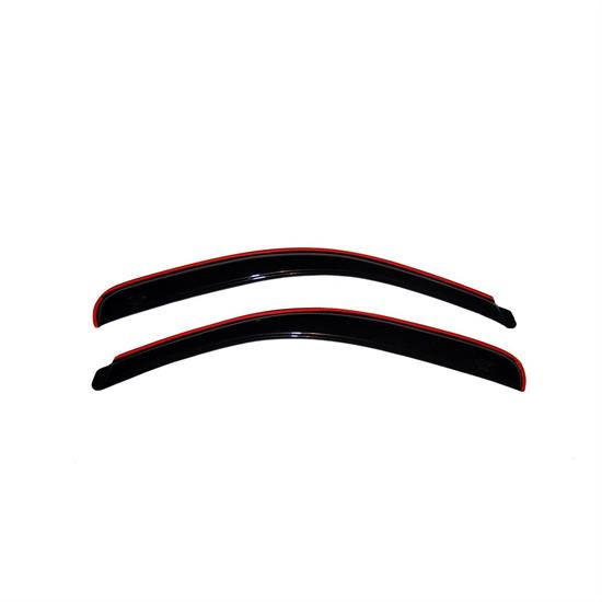 AVS 192349 Ventvisor In-Channel Deflector, 2003-07 Honda Accord