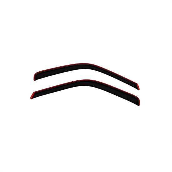 AVS 192503 Ventvisor In-Channel Deflector 2pc Smoke Tint, Ford