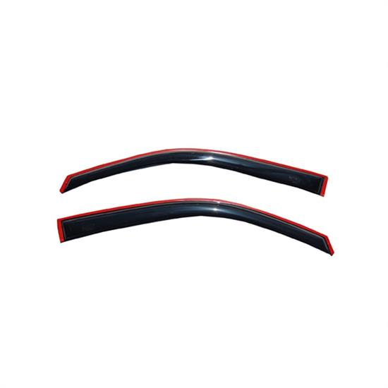 AVS 192741 Ventvisor In-Channel Deflector 2pc Smoke Tint, Ford