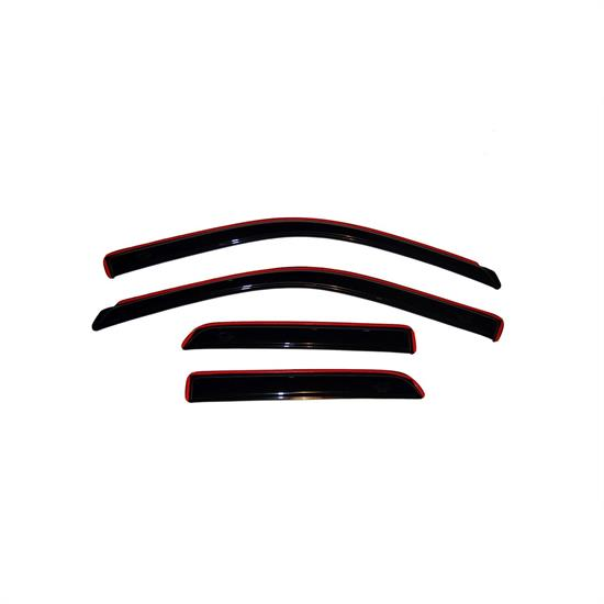 AVS 194101 Ventvisor In-Channel Deflector 4pc, Ram 1500