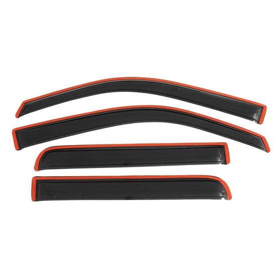 AVS 194155 Ventvisor In-Channel Deflector 4pc Smoke Tint, F-150