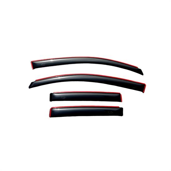 AVS 194323 Ventvisor In-Channel Deflector, 2007-12 Dodge Caliber