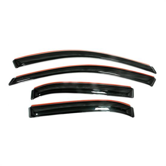 AVS 194361 Ventvisor In-Channel Deflector 4pc Smoke Tint, Sonata