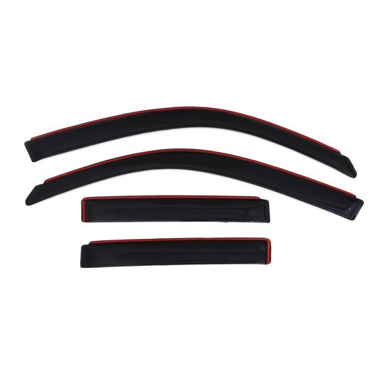 AVS 194924 Ventvisor In-Channel Deflector, 2003-09 Toyota 4Runner