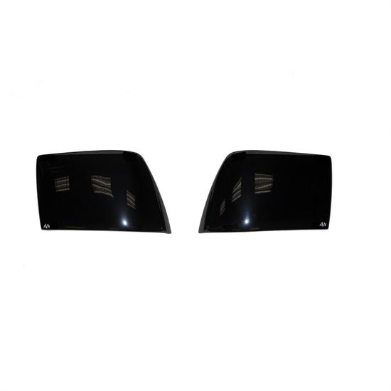 AVS 31604 Tail Shades Taillight Covers Blackout, 15-17 Challenger