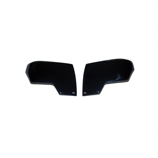 AVS 37768 Headlight Covers Smoke Tint, Wrangler