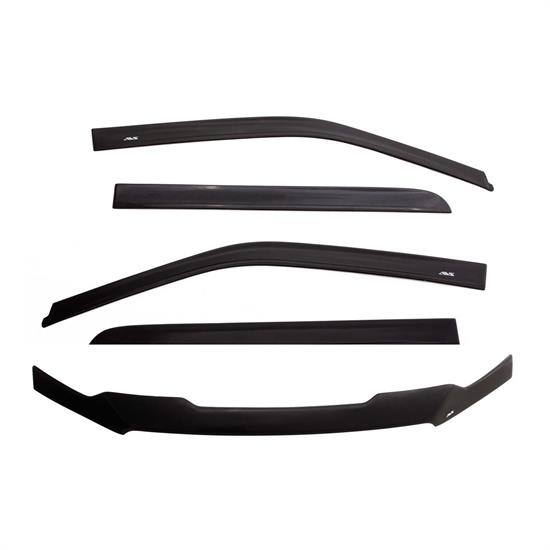 AVS 56041108 Ventvisor/Bug Shield, 2005-14 Toyota Fj Cruiser