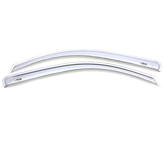 AVS 682971 Chrome Ventvisor Side Window Deflector 2pc, Ford