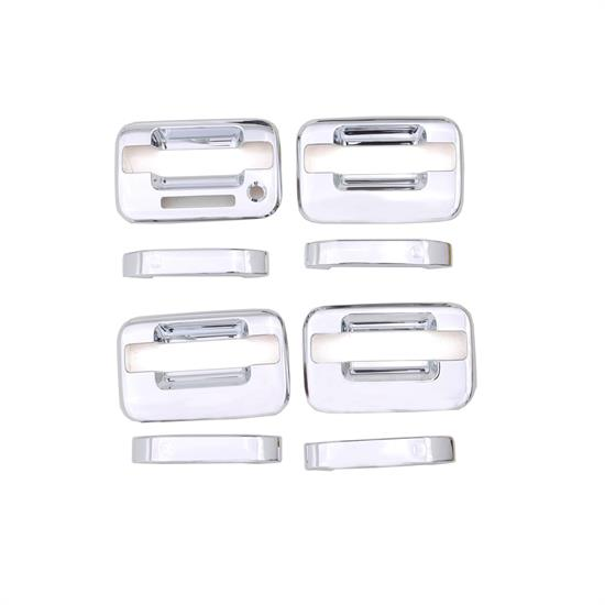 AVS 685202 Chrome Door Handle Cover w/Keypad, 2004-14 Ford F-150