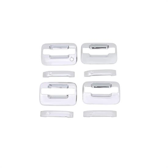 AVS 685302 Chrome Door Handle Cover 4pc, 2004-14 Ford F-150