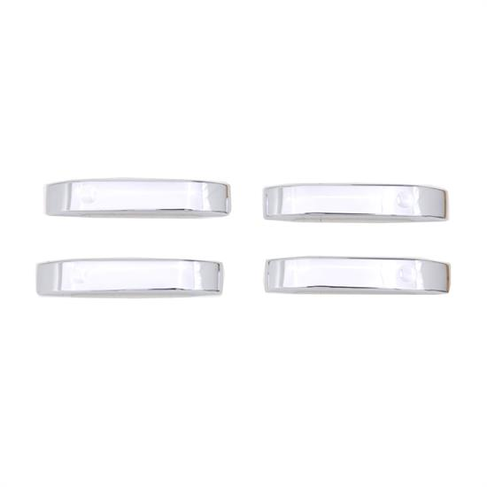 AVS 685402 Chrome Door Lever Cover 4pc Handle Only, 04-14 F-150