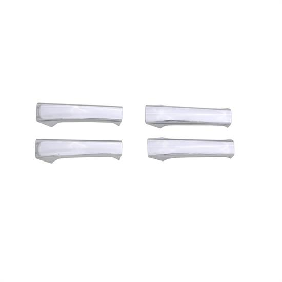 AVS 685408 Chrome Door Lever Cover 4pc, Chevy/GMC