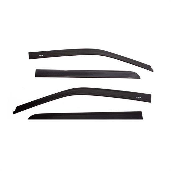 AVS 774037 Low Profile Deflector 4pc Matte Black, 05-17 Frontier