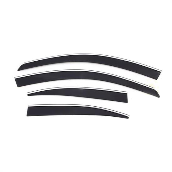 AVS 794008 Ventvisor Low Profile Deflector 4pc, IS250/IS350