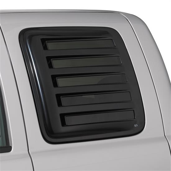 AVS 83410 Aeroshade Rear Side Window Cover Black F150/F250