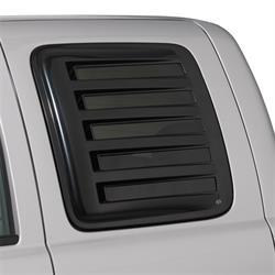 AVS 83410 Aeroshade Rear Side Window Cover Black F150/F250