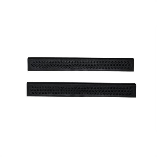 AVS 88106 Stepshield Door Sill Protector Black 2pc 97-06 Wrangler