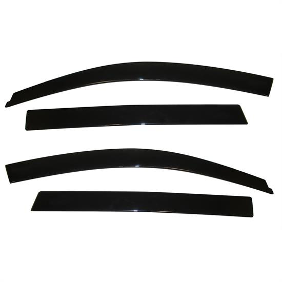 AVS 894020 Ventvisor Low Profile Deflector 4pc, 09-17 Traverse