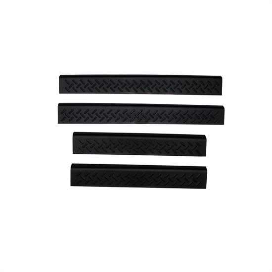 AVS 91636 Stepshield Door Sill Protector Set 4pc, Chevy/GMC