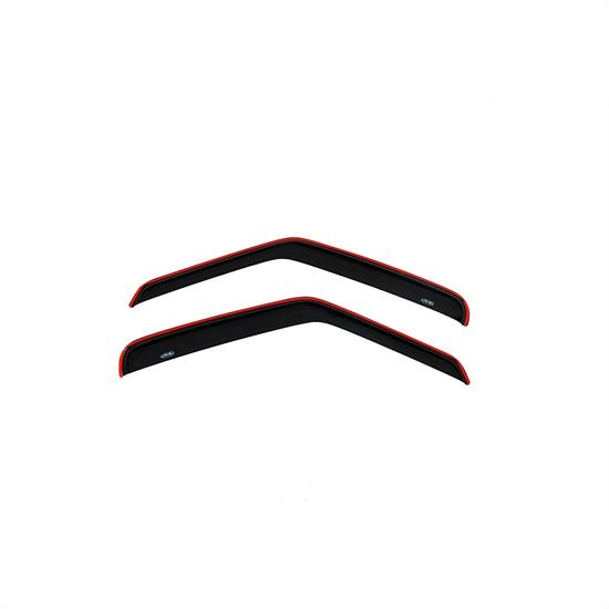 AVS 92077 Ventvisor Side Window Deflector 2pc Smoke Tint, Ford