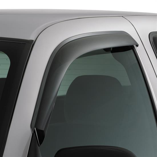 AVS 92971 Ventvisor Side Window Deflector 2pc Smoke Tint, Ford