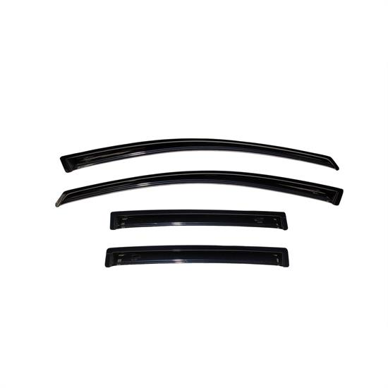 AVS 94009 Ventvisor Side Window Deflector 4pc Smoke Tint, Versa