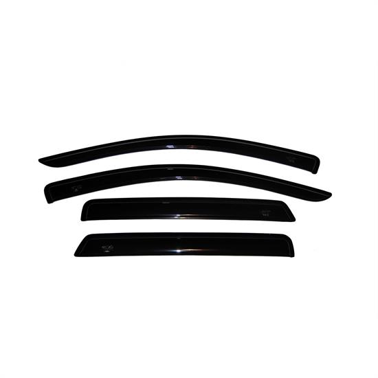 AVS 94072 Ventvisor Side Window Deflector, 2008-17 Dodge Journey