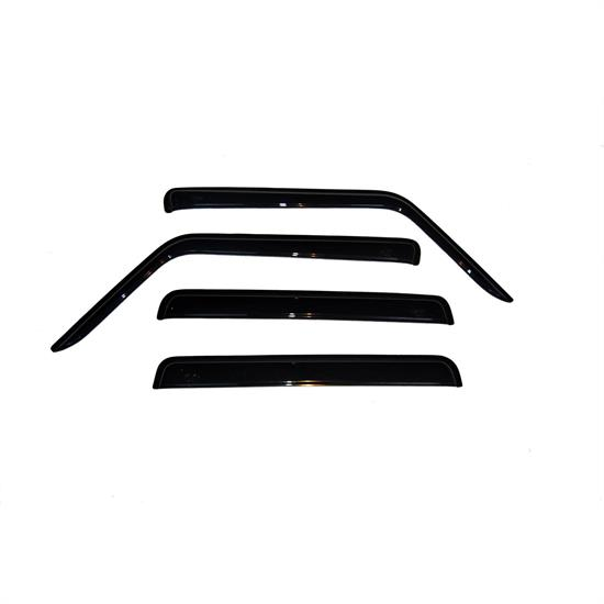 AVS 94117 Ventvisor Side Window Deflector, 2006-10 Jeep Commander