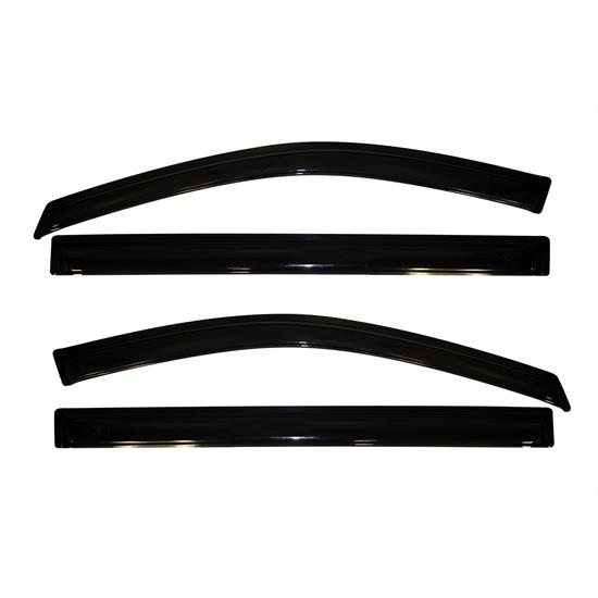 AVS 94251 Ventvisor Side Window Deflector 4pc, Grand Caravan