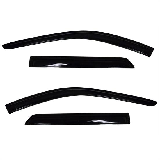 AVS 94267 Ventvisor Side Window Deflector, 2011-17 Dodge Durango