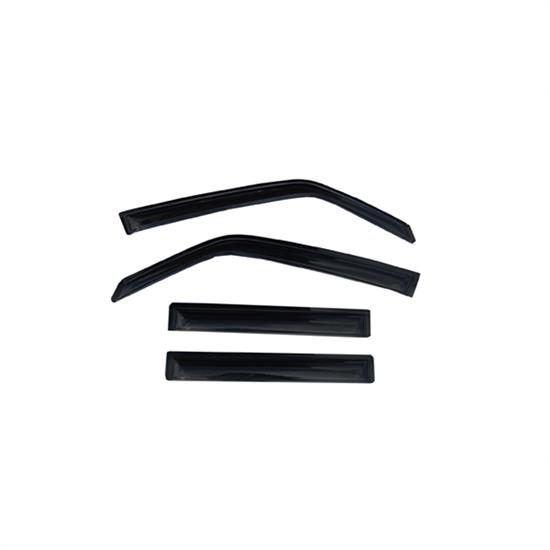 AVS 94352 Ventvisor Side Window Deflector 4pc, 01-02 Montero