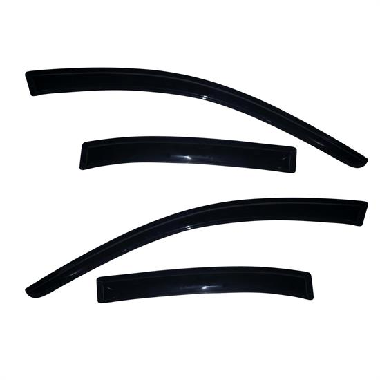 AVS 94362 Ventvisor Side Window Deflector 4pc Smoke Tint, Malibu