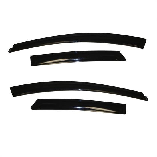 AVS 94373 Ventvisor Side Window Deflector 4pc, 2012-17 Ford Focus