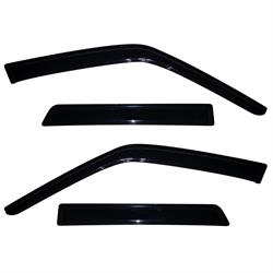 AVS 94378 Ventvisor Side Window Deflector, 2010-17 Nissan Juke