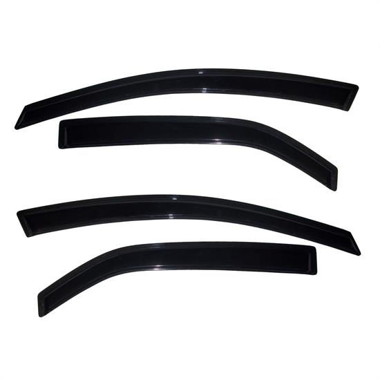 AVS 94688 Ventvisor Side Window Deflector 4pc, 2010-12 Kia Forte