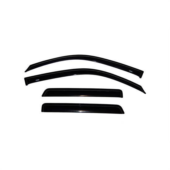 AVS 94733 Ventvisor Side Window Deflector 4pc, Trailblazer
