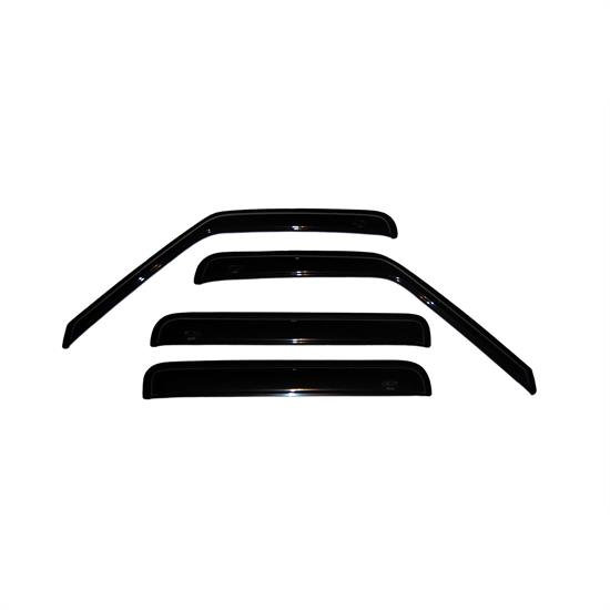 AVS 94755 Ventvisor Side Window Deflector 4pc, S10/Sonoma