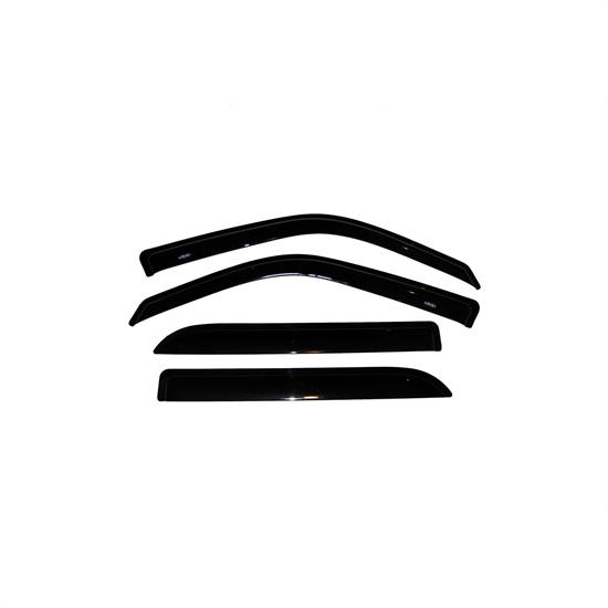 AVS 94949 Ventvisor Side Window Deflector 4pc, F-150/Blackwood