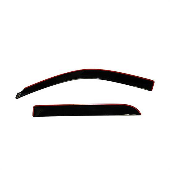 AVS 994004 Ventvisor Low Profile Deflector 4pc Smoke, Dodge Ram