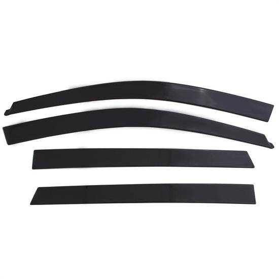 AVS 994018 Ventvisor Low Profile Deflector 4pc Smoke, 07-14 Edge