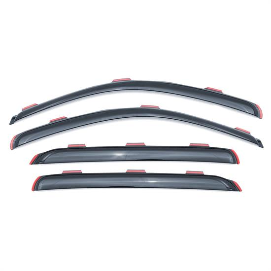 LUND 184733 Ventvisor Elite 4 pc, 2005-09 Chevy Trailblazer