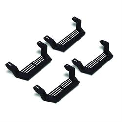 LUND 26410020 Rock Rail Step Black Short Step 4 pc