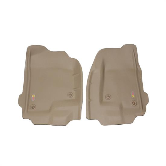 LUND 400612 Catch-All Xtreme Floor Mat 2 pc Front Tan, Chevy/GMC