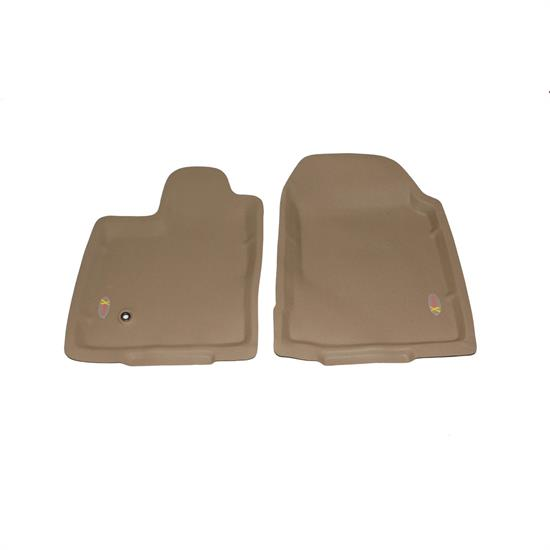 LUND 4020312 Catch-All Xtreme Floor Mat 2 pc Front Tan, Edge/MKX