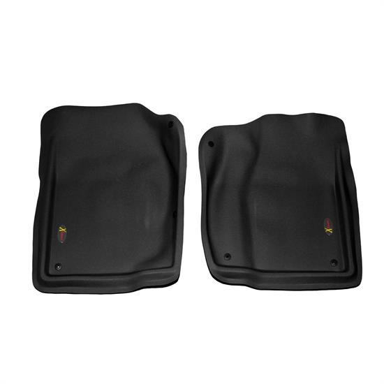 LUND 403001 Catch-All Xtreme Floor Mat 2 pc Front Black, Dodge