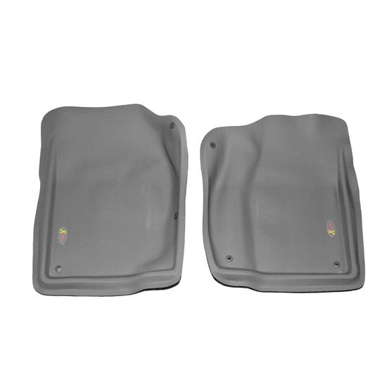 LUND 403002 Catch-All Xtreme Floor Mat 2 pc Front Gray, Dodge